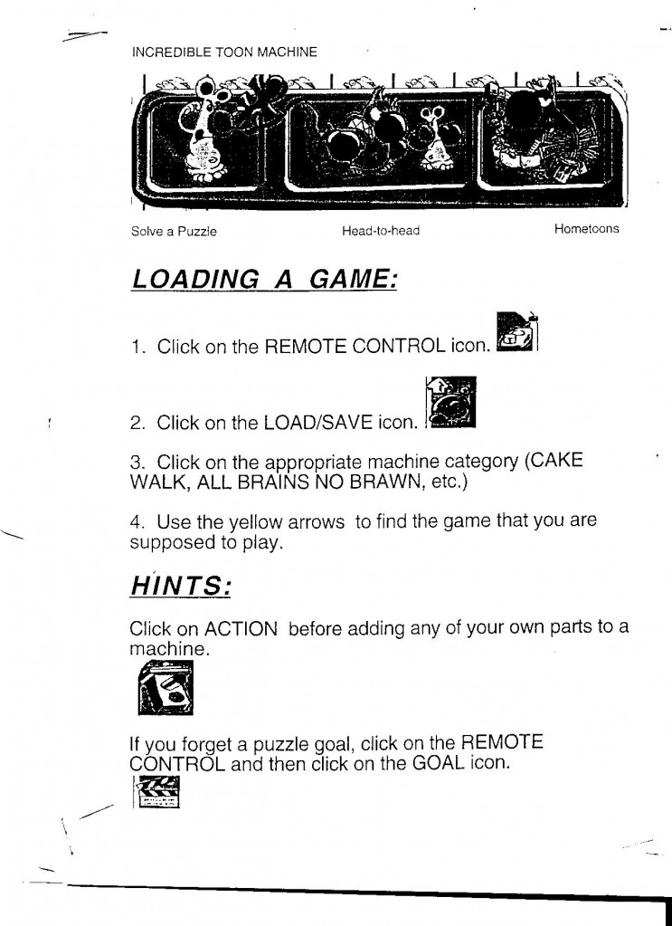 Incredible Toon Machine Game Guide
